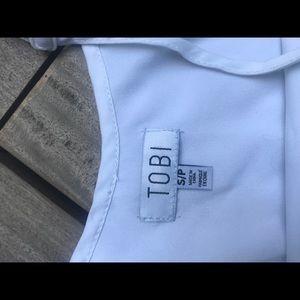 Tobi Tops - TOBO | White Long Tank Cami